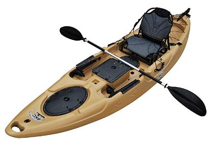 BKC RA220 11.6 Single Fishing Kayak