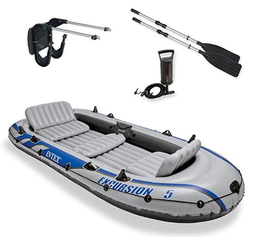 Intex Excursion 5 Inflatable Rafting Kayak