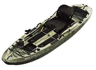 SunDolphin Boss SS Sit-On-Top Angler Kayak