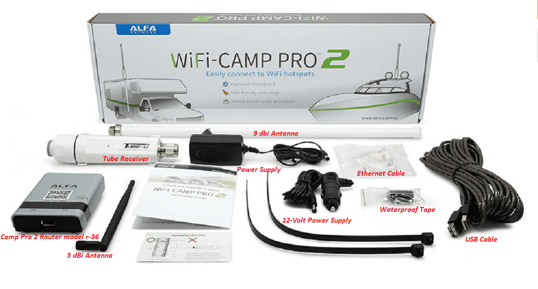 Alfa Wifi Camp Pro 2 Reviews Hardware and Software Setup Guide