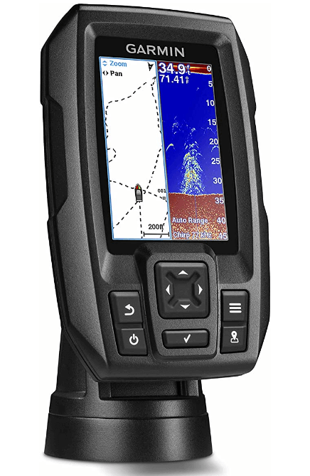 Garmin Striker 4 with Transduce 3.5 GPS Fishfinder