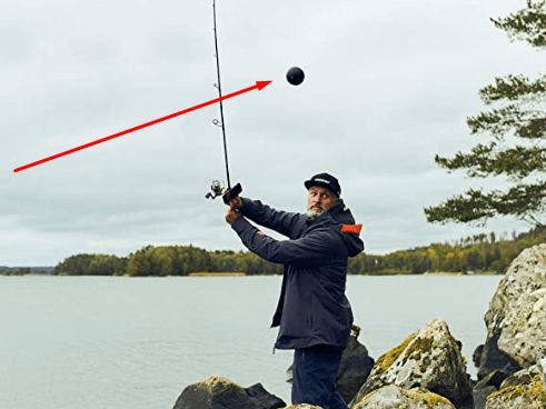 Deeper PRO+ Smart Sonar GPS Portable Wireless Wi-Fi Fish Finder while fishing