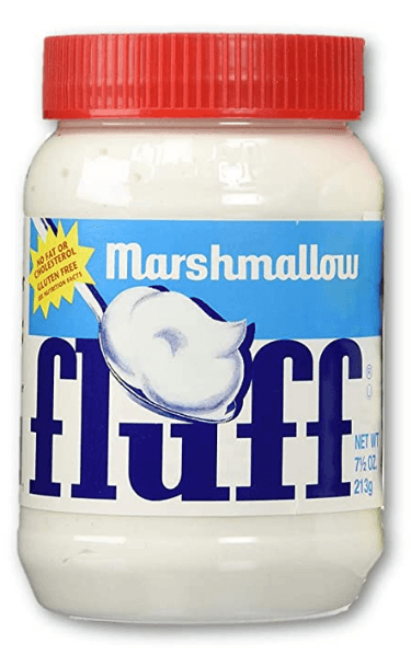 Marshmallow Fluff Spread and Creme