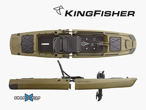 Point 65 Kingfisher Modular Fishing Kayak