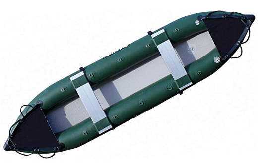 Saturn 13 Inflatable Fishing Kayak Canoe