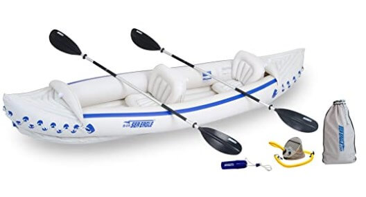 Sea-Eagle Inflatable Deluxe 370 Inflatable kayak