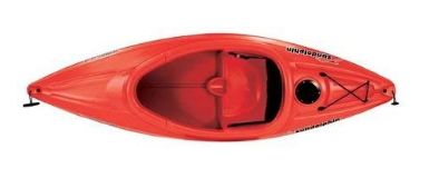 Sun Dolphin RED Aruba 8 SS Sit-in Lightweight Kayak