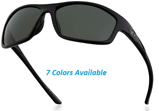 Bnus corning glass lens sunglasses for men & Women italy made polarized option