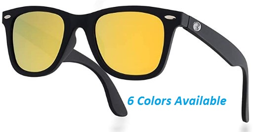 Italy Made HD Corning Glass Lens Sunglasses Polarized Unisex