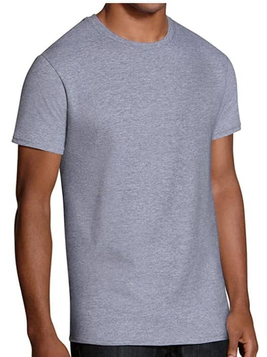 Fruit of the Loom Mens Stay Tucked Crew T-Shirt