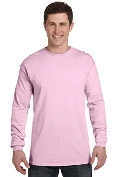 Comfort Colors Mens Adult Long Sleeve Tee, Style 6014