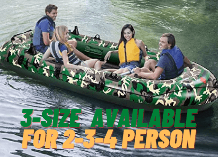 CHUWUJU Inflatable Boat Set