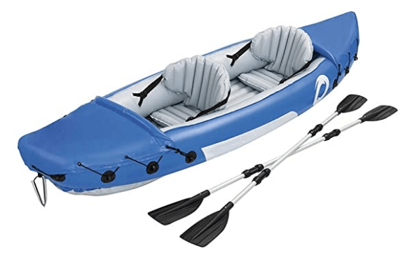 Dertyped Outdoor Inflatable Fishing Kayak for Adults, it is one of the best fishing kayaks under 800 usd.