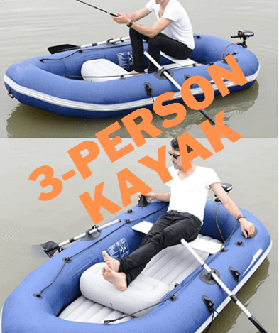 Dertyped Rubber Boat Inflatable Fishing Boat