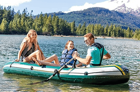 Dertyped Three-Person Inflatable Fishing Kayak is one of the best fishing kayaks under 800.