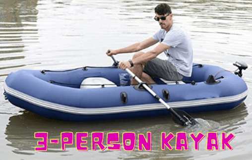 Dertyped Outdoor Inflatable Fishing Boat