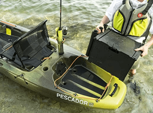 Perception Silent Traction Kit for Pescador Pro 12 Kayak