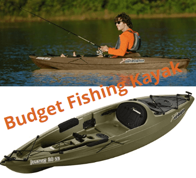 Sun Dolphin Journey 10-Foot Sit-on-top Fishing Kayak is One of the best kayaks under $800.
