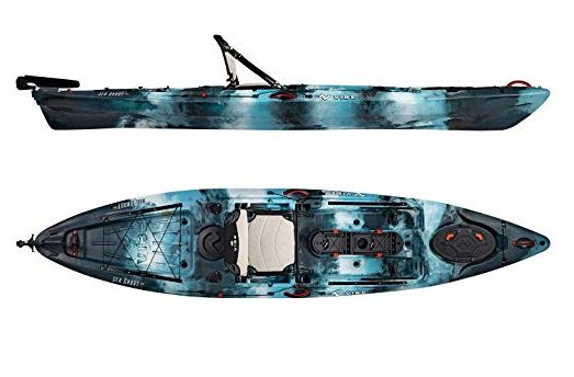 Vibe Sea Ghost 130 Angler Kayak is one of the best budget fishing kayaks.