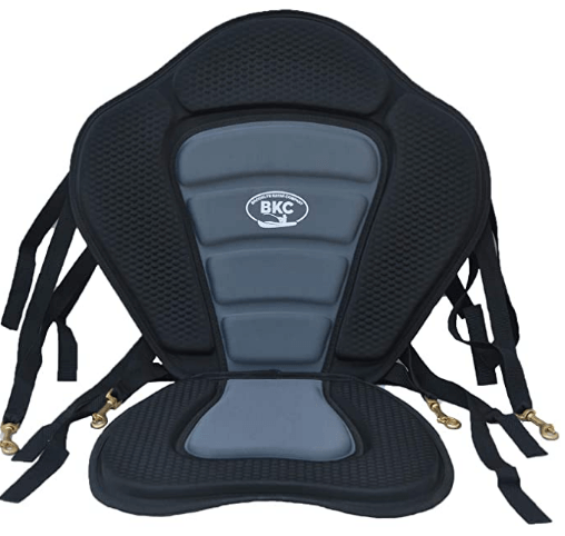 BKC UH-PS223 Universal Sit On Top Kayak Full Padded Seat and Backrest