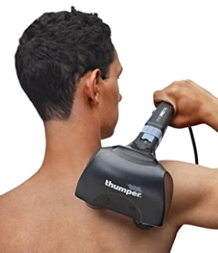 Thumper Sport Percussive Massager for Muscles, Back, Shoulders, Legs, arms