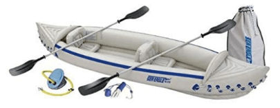 Sea Eagle 370 Deluxe 3 Person Inflatable Sport Kayak