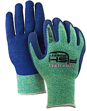 Fish cleaning glove