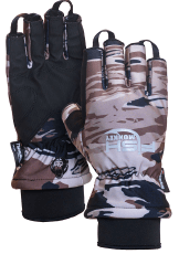 Insulated fishing gloves