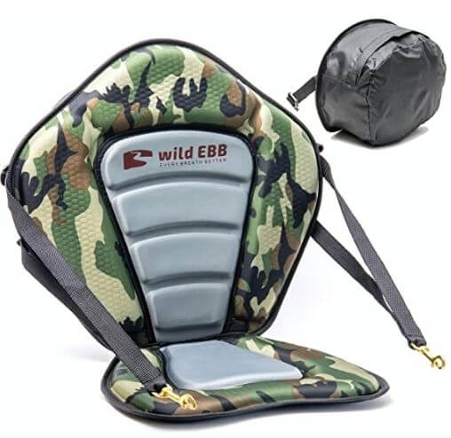 Wild EBB Kayak Seat with Back Support